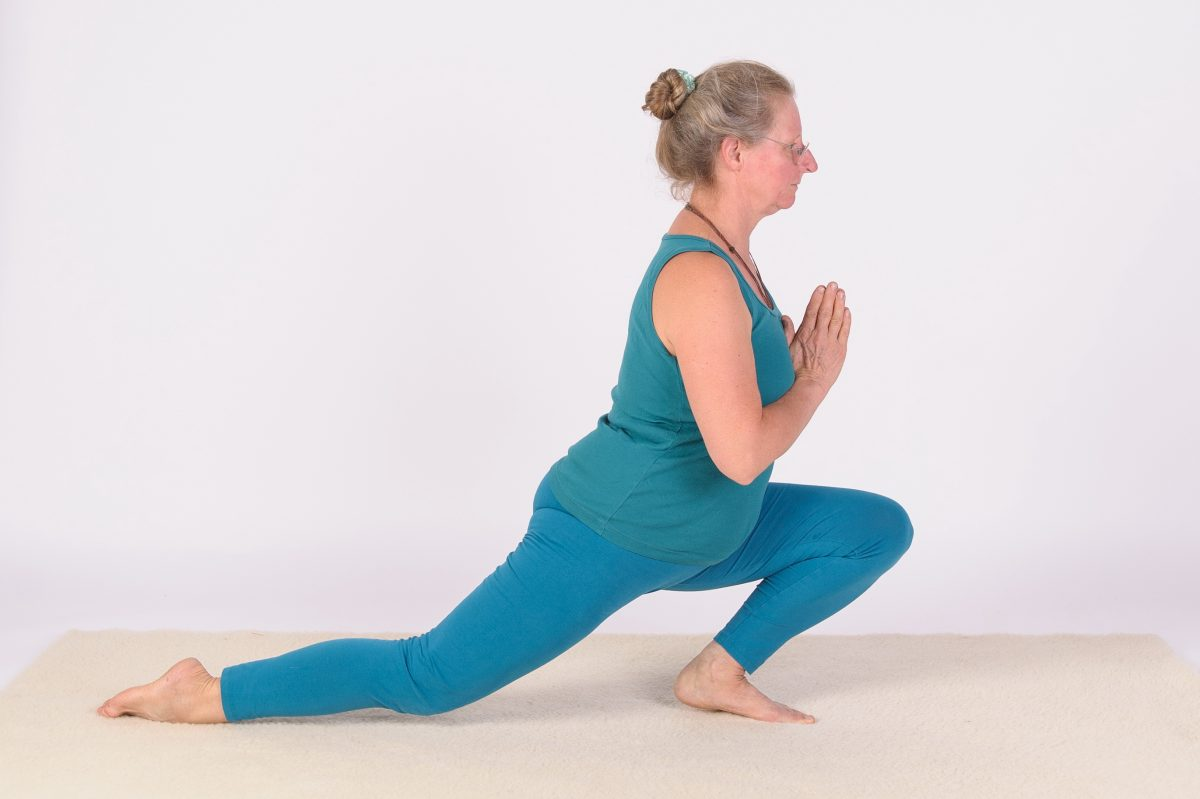 Halber Yogaspagat - Katharina - Foto: © Claudia Schramm-Pose